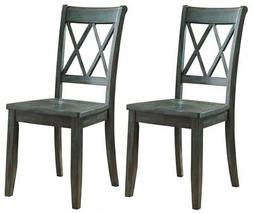 Ashley D540-101 Mestler Dining Room Side Chair - Antique Blu