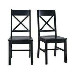 Pemberly Row Dining Chair in Black