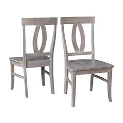 Pemberly Row Dining Chair in Weathered Gray