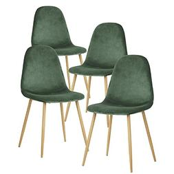 GreenForest Dining Chairs for Kitchen,Elegant Velvet Back an