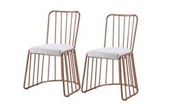 Dining Chairs Set of 2, Fabric Side Chair for Living Room 2