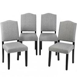 Dining Chairs Armless Chair Accent Kitchen Solid Wood Living