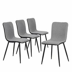 Coavas Dining Chairs Set of 4 Kitchen Chairs with Fabric Cus