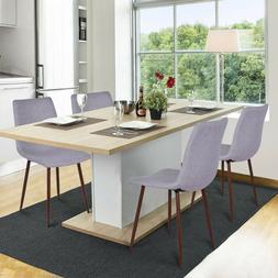 Dining Chairs, Set of 4 Mid Century Modern Side Eames-style