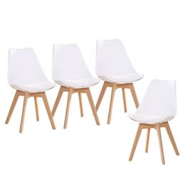 YEEFY Dining Chairs Side Chair DSW Dining Chair Walnut Legs,