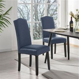 Dining Chairs Soft Padded with Nailhead Trim and Soft Padded