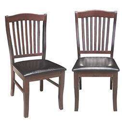 dining chairs wood armless chair