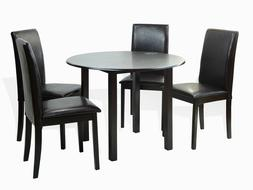 Dining Kitchen 5 Pcs SET Round Table 4 Fallabella Chairs, Es