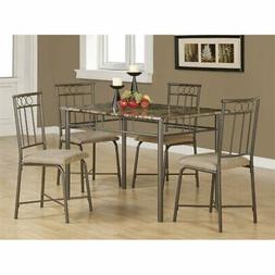 5-Pc Dining Set in Black