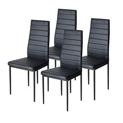 IDS Home Dining Table Chairs Set for 4 Kitchen Dining Room C