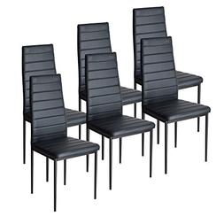 Dining Table Chairs Set for 6 Kitchen Dining Room Chairs wit