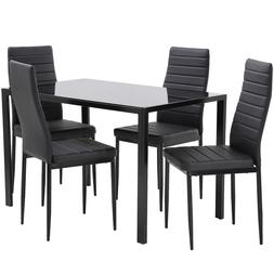 Dining Table Set  Room Table  for Small Spaces Set of 4 Kitc