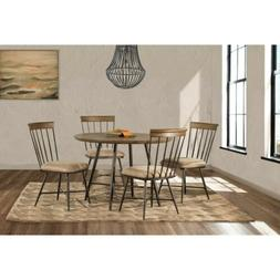 Hillsdale Furniture Forest Hill 5-Pc Round Dining Set, Brown