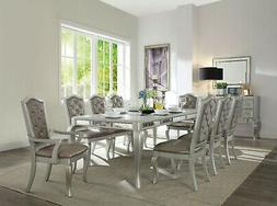 Acme Furniture Francesca 9 Piece Dining Room Set