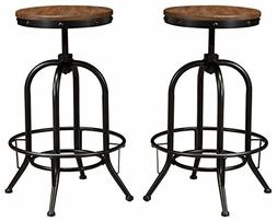 Ashley Furniture Signature Design - Pinnadel Bar Stool - Pub