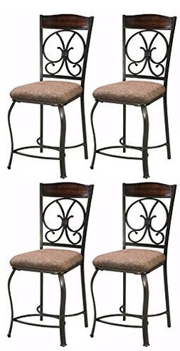 Ashley Furniture Signature Design - Glambrey Barstool Set -