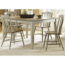 Liberty Furniture Al Fresco 5 Piece Dining Set in Driftwood