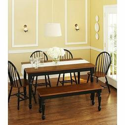 Better Homes and Gardens Autumn Lane 6-Piece Dining Table Se