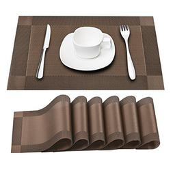 Prunend Heat-resistant Placemats Stain Resistant Anti-skid W