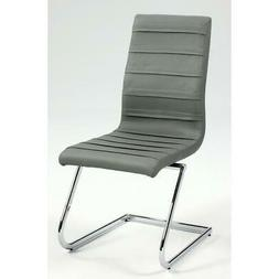 High Back Brewer Style Side Chair - Set Of 2, Chrome