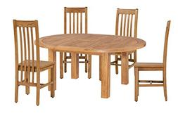Trithi Furniture Hillsboro American Solid Oak Dining and Kit