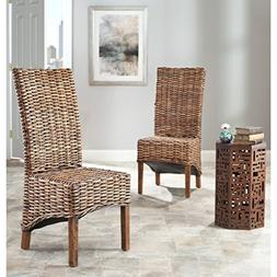 Safavieh Home Collection Isla Brown Dining Chair