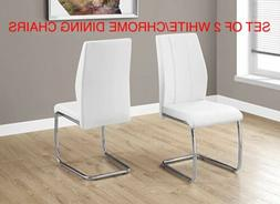 "Monarch Specialties I 1075 2 Piece Dining CHAIR-2PCS/ 39"" Le"