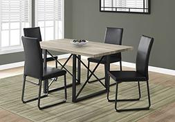 "Monarch Specialties I 1100 Dining Table-36""X 60"" / Dark Taup"