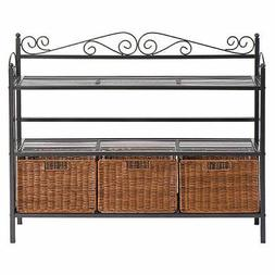 Ivy 3-Drawer Baker's Rack