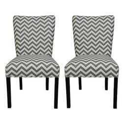 SOLE Designs Julia Collection Dining Chairs, A Set of 2 Upho