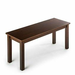 Zinus Juliet Espresso Wood Bench