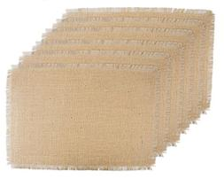 DII 100% Jute Rustic Vintage Placemat for Parties BBQ's Ever