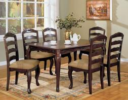 Furniture of America Kathryn 7-Piece Classic Style Dining Ta