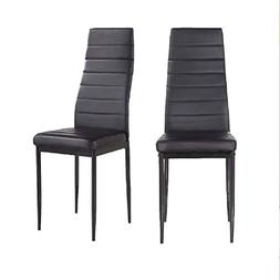Mecor Kitchen Chairs Set of 2 Dining Chairs with High Back P