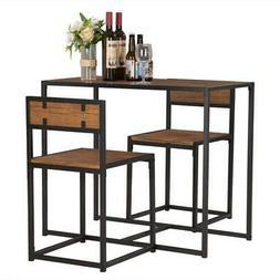kitchen dining table and 2 chairs set