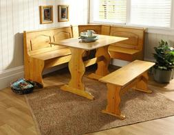 kitchen nook solid wood corner dining breakfast