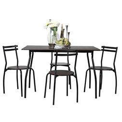 Small Kitchen Table Set Dining For 4 Chairs Bar Bistro Stude