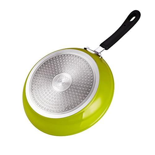 Cook Home and 10-Inch Nonstick Heavy Gauge Fry Skillet