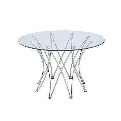 Coaster Home Furnishings 106921 Dining Table Base Chrome  NE
