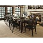 13 piece dining set solid wood long