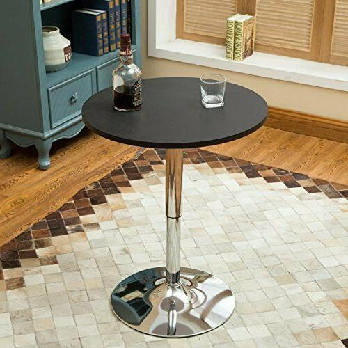 3 PCS Counter Dining Round Table 2 Pub Furniture