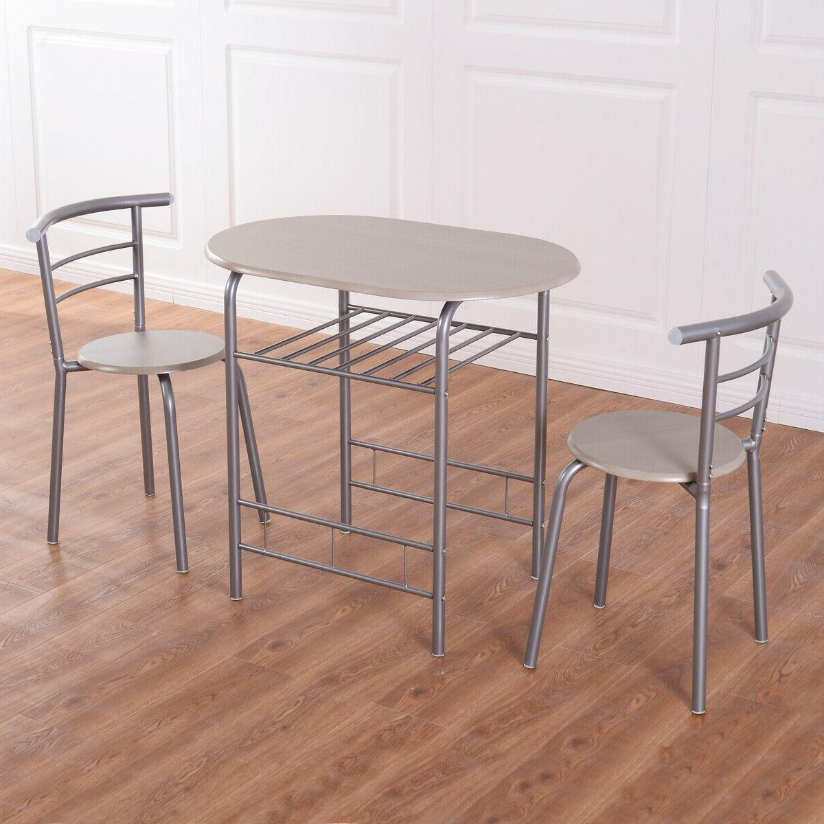 3 Dining Table 2 Bistro Home Kitchen Breakfast Furniture