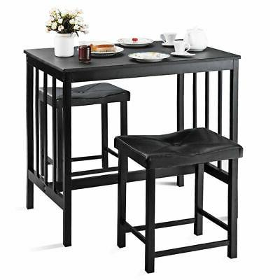 3 pcs modern counter height dining set