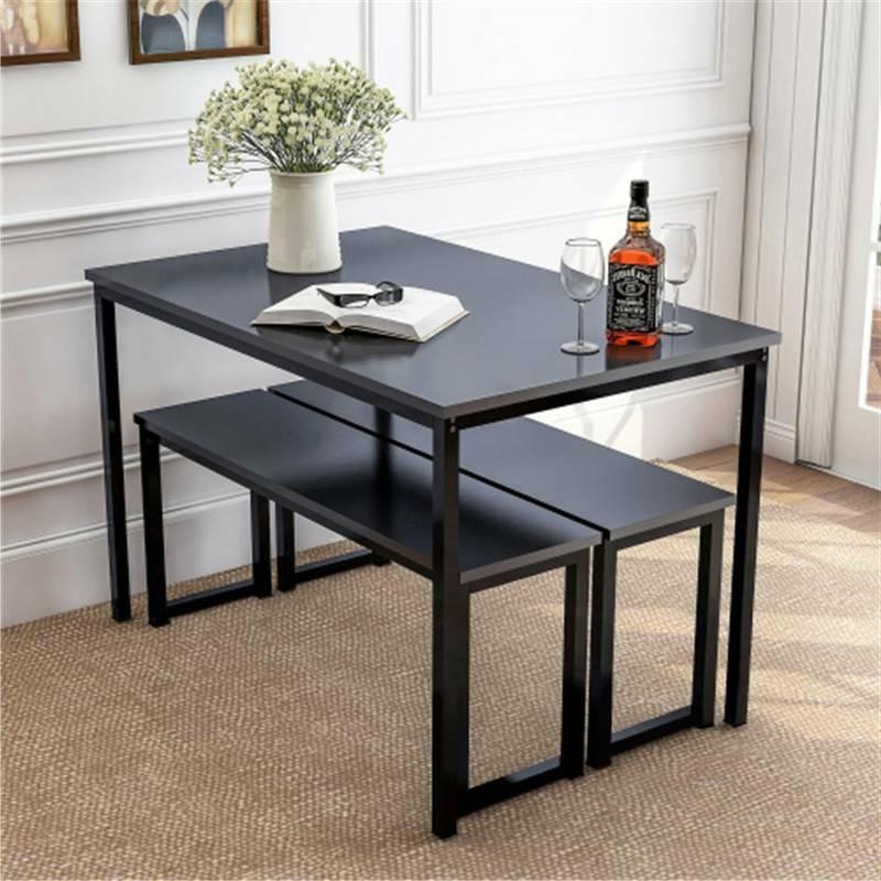Home Kitchen Table with Benches, USA