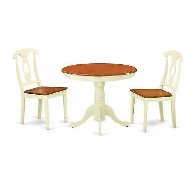 3-piece Kitchen Nook Dining Set For 2-dinette Table and 2 Ki