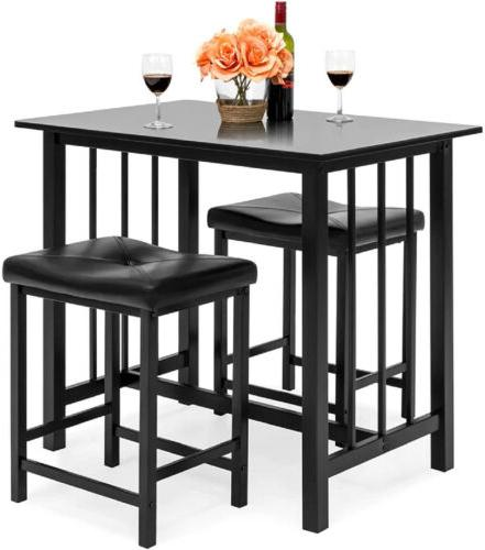 3 piece pub table set counter height