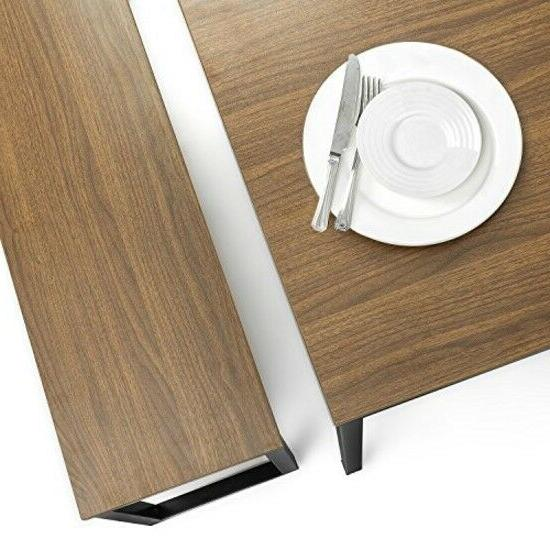 3 Modern Collection Dining Table with Benches