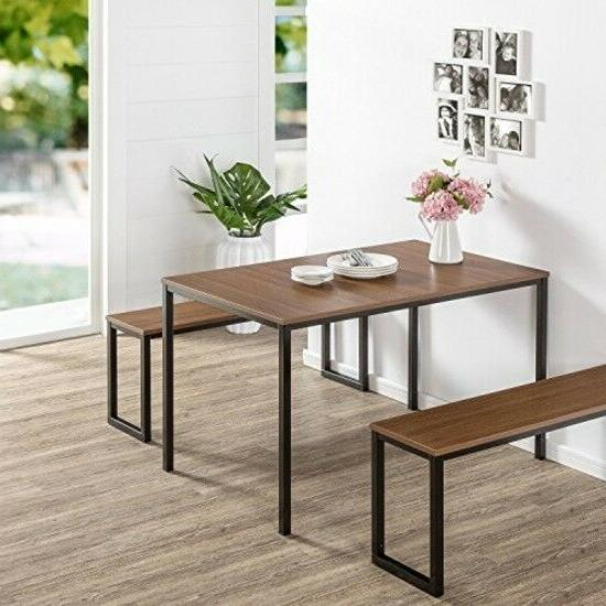3 piece Modern Dining Benches