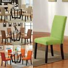 4 COLORS Microfiber Covered Set of 2 Parson Design Dining Ch