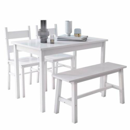 4-Piece Table Solid Chairs & Kitchen